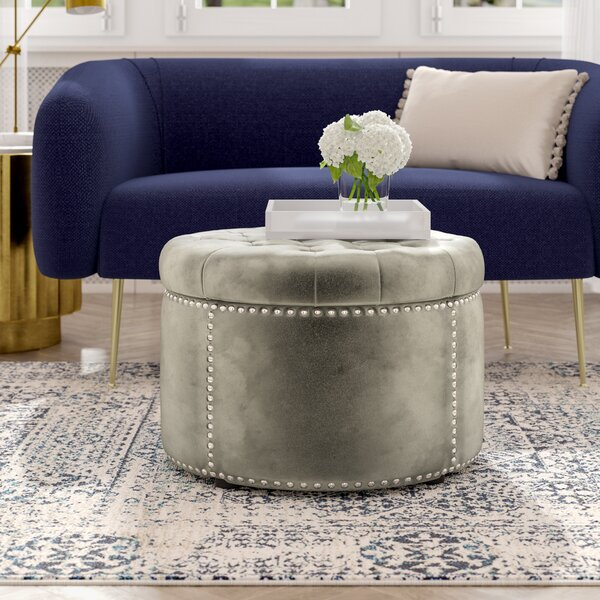 Alaska Tufted Cocktail Ottoman by Grovelane Teen