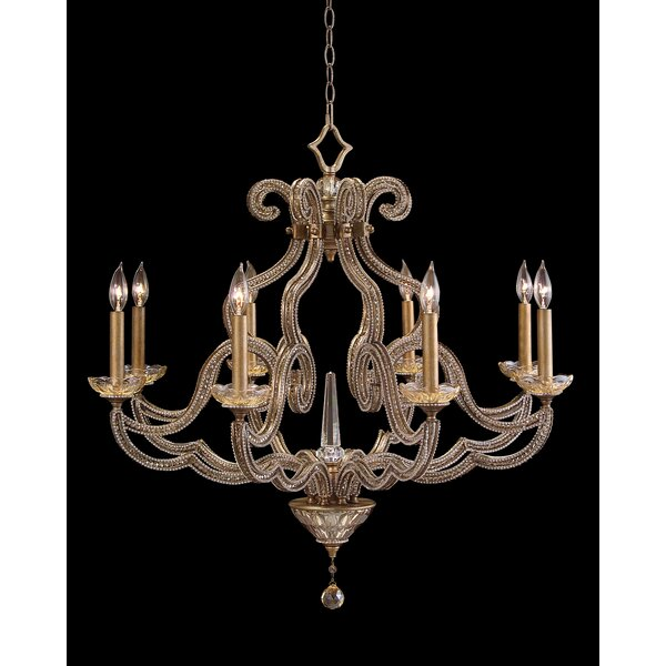 Paris 8-Light Candle Style Empire Chandelier by John-Richard John-Richard