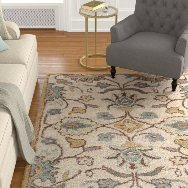 Harrold Hand-Tufted Multi Area Rug by Charlton Home