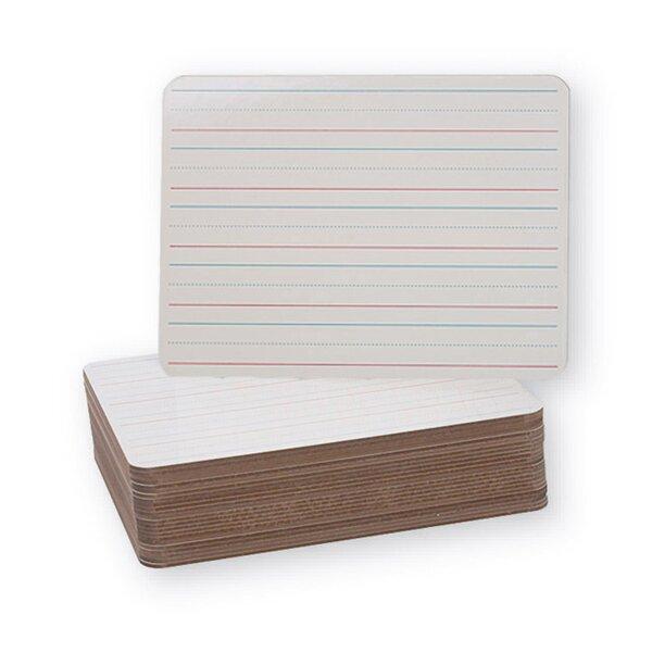 Double Sided Dry Erase Lap Board Whiteboard, 9 x 12 by Flipside