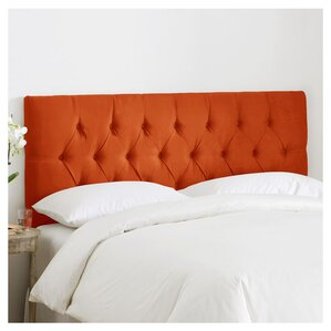 Leighton Tufted Polyester Upholstered Headboard by Skyline Furniture