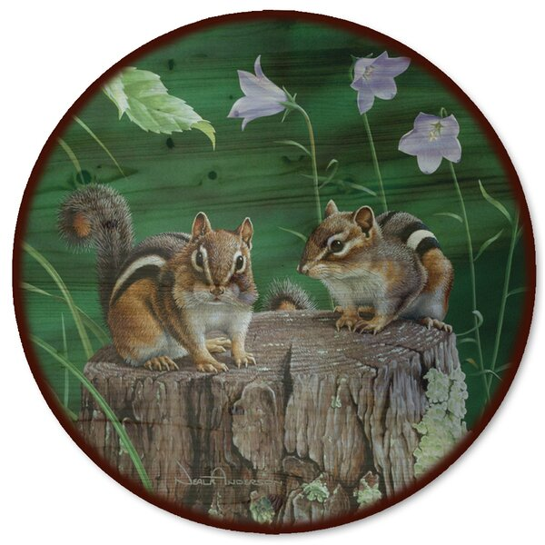 Chipmunks Lazy Susan by WGI-GALLERY