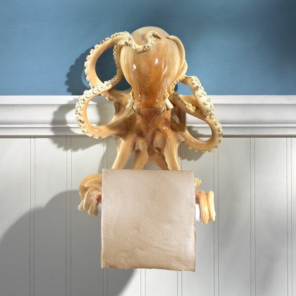 Tentacles Bathroom Wall Mount Toilet Paper Holder