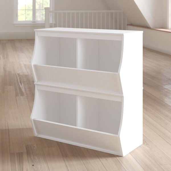 Leonor Stacked 4 Bin Storage Cubby by Viv + Rae