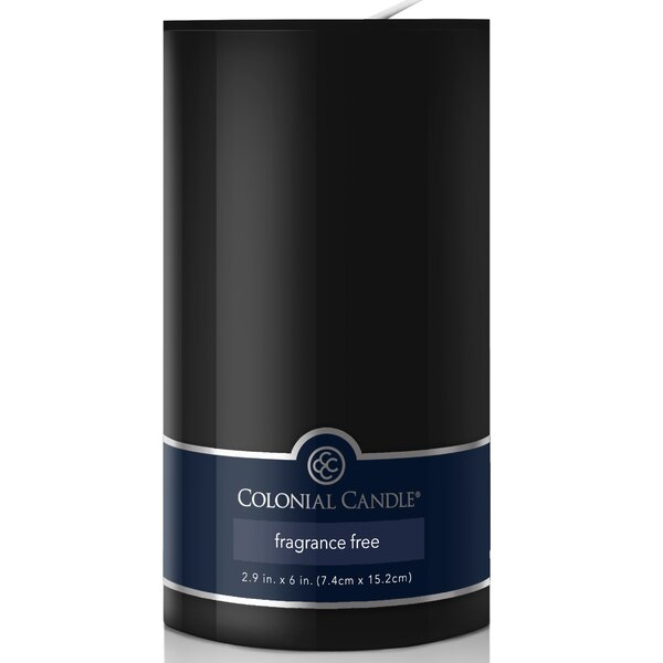 Unscented Pillar Candle by Colonial Candle