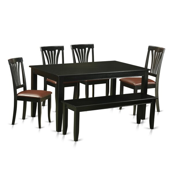 Sisneros 6 Piece Dining Set by Charlton Home Charlton Home