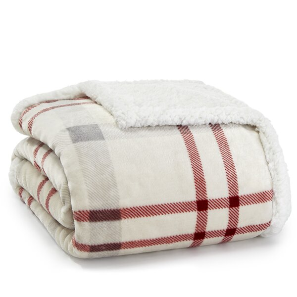Elk Stance Plush Throw by Eddie Bauer