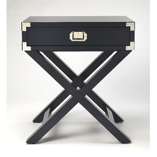Find Wimborne End Table with Storage By Everly Quinn