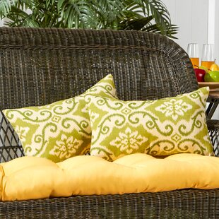 Find the perfect Knopp Outdoor Lumbar Pillow (Set of 2) By Alcott Hill