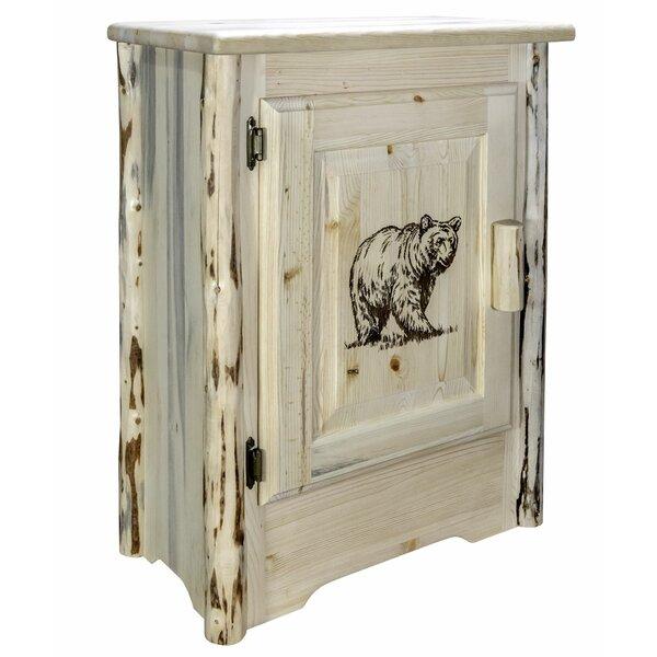 Shriver 1 Door Accent Cabinet