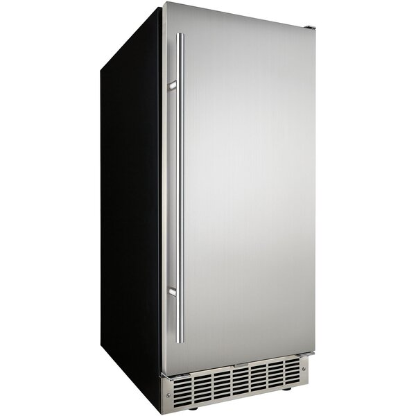 Silhouette 24 32 lb. Daily Production Built-In Ice Maker by Danby