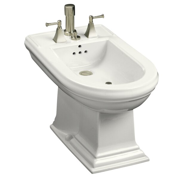 Memoirs Vertical Spray Bidet with 4 Faucet Holes by Kohler