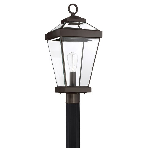 Lauren 1-Light Lantern Head by Gracie Oaks