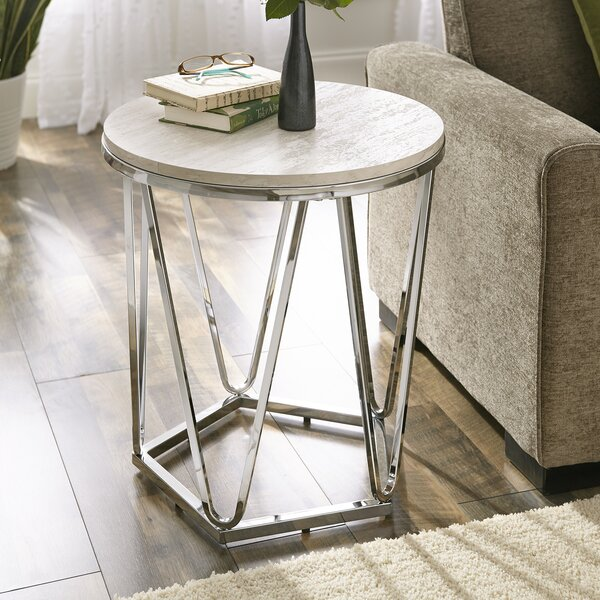 Jimmy End Table by Brayden Studio