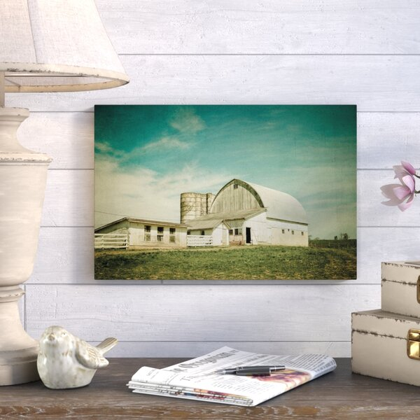 Rural Life Photographic Print on Wrapped Canvas by August Grove