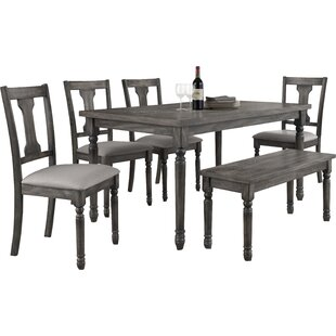 Parkland 6 Piece Dining Set  sc 1 st  Wayfair & 6 Piece Kitchen u0026 Dining Room Sets Youu0027ll Love | Wayfair