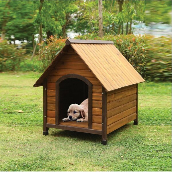 Woody Dog House by Benzara