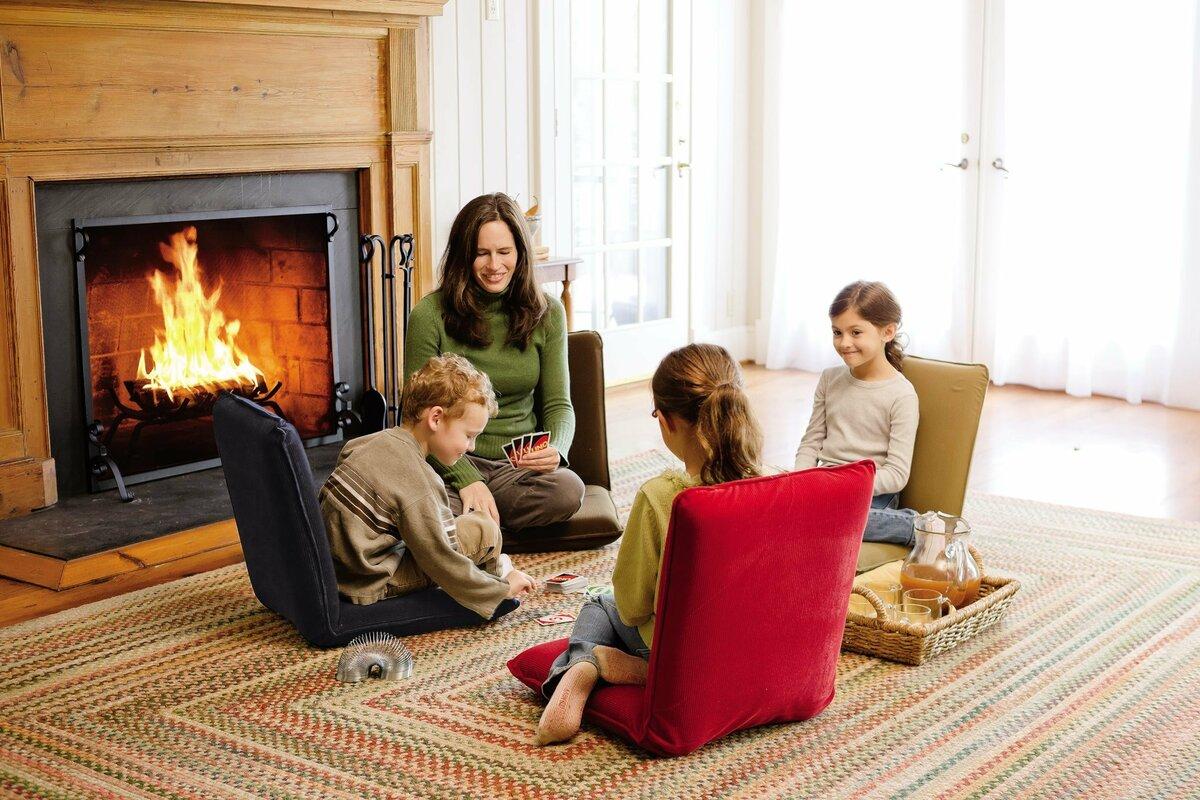 Plow Amp Hearth Multiangle Floor Chair Amp Reviews Wayfair