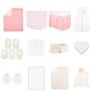 Reviews Essentials Audrey 18 Piece Crib Bedding Set ByThe Peanut Shell