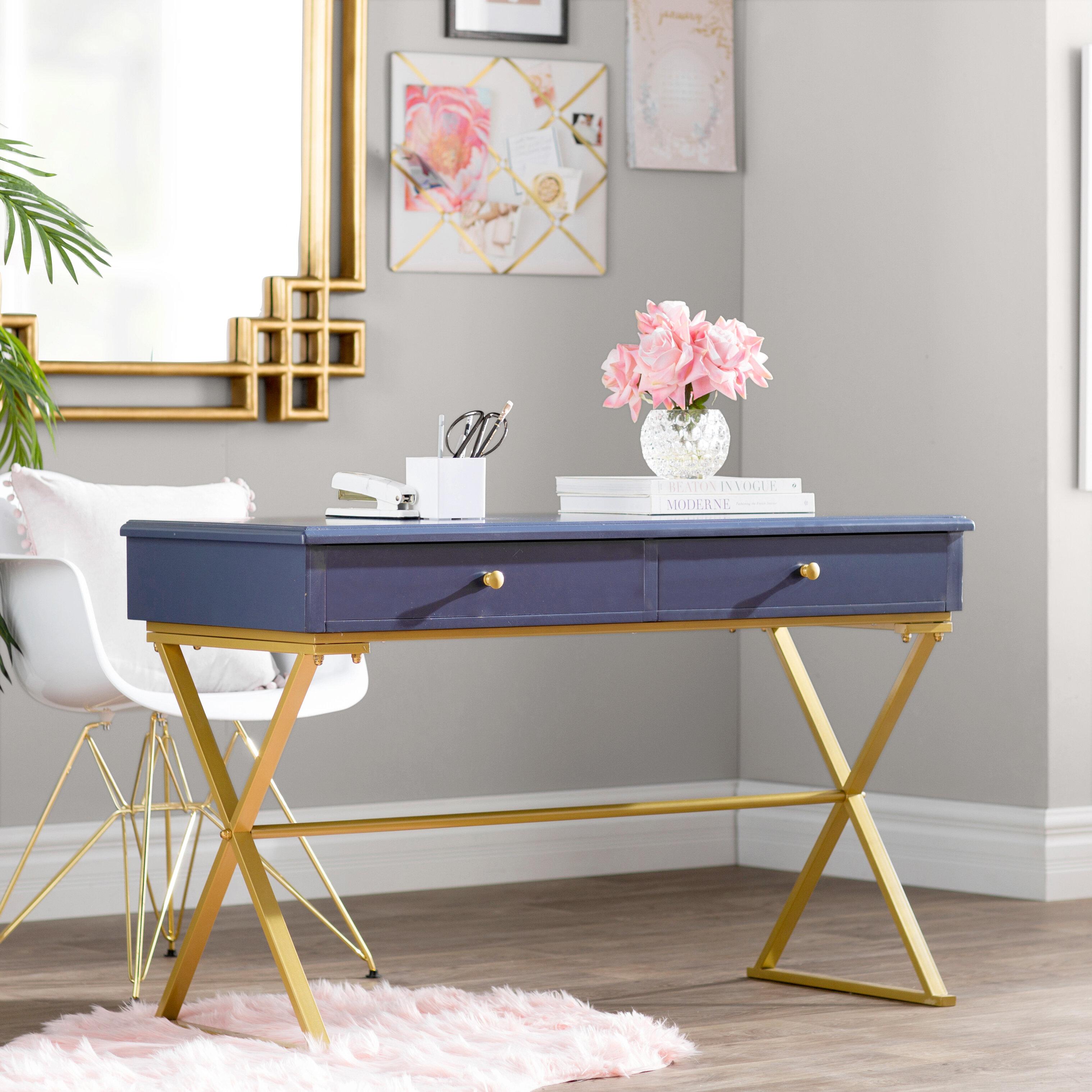 Willa Arlo Interiors Colston Writing Desk & Reviews | Wayfair