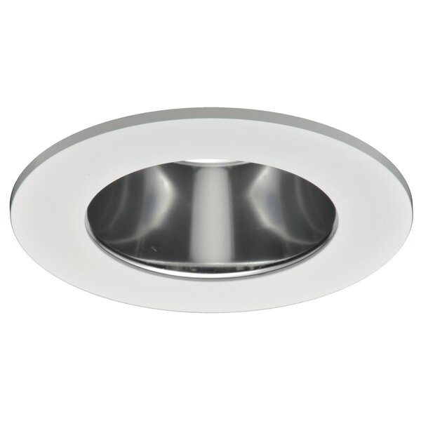 Specular Clear Reflector, Diffuse Polymer Lens 4 LED Recessed Trim by Halo