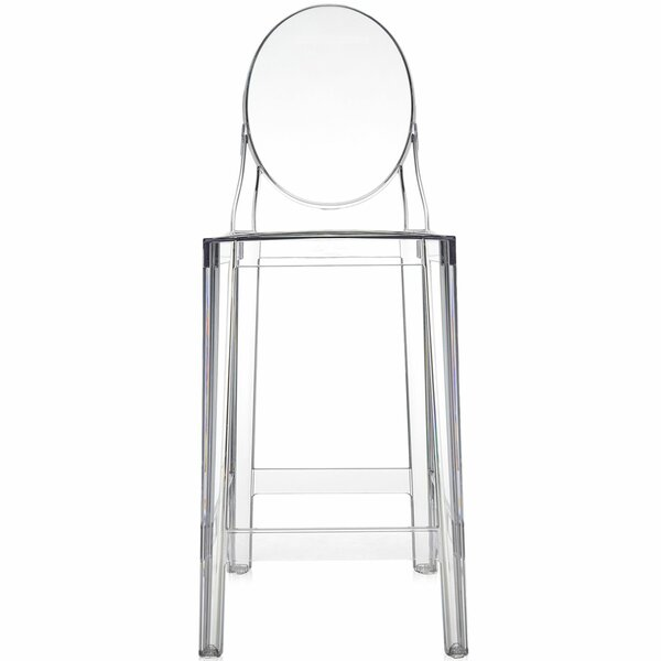 One More Patio Bar Stool (Set of 2) by Kartell