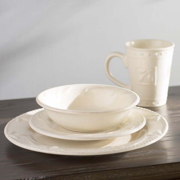 Genesee 4 Piece Place Setting by Lark Manor