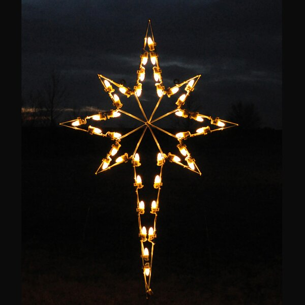Large Outdoor Christmas Star Wayfair