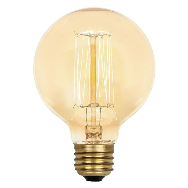 Amber G25 Light Bulb by Westinghouse Lighting