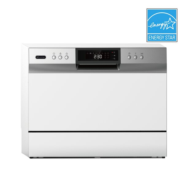 Portable Led 22 54 Dba Countertop Dishwasher By Whynter.