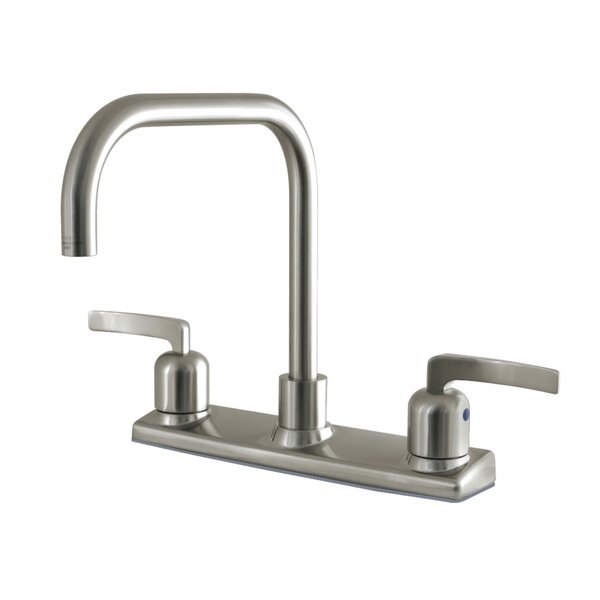 Centurion Double Handle Kitchen Faucet by Kingston Brass