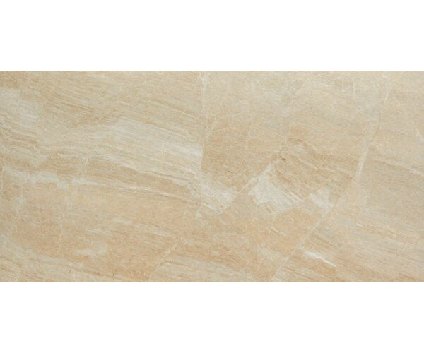 Anthology 12 x 24 Porcelain Field Tile in Matte Beige by Samson