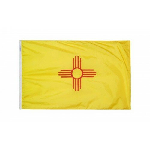 New Mexico Glo Traditional Flag by NeoPlex