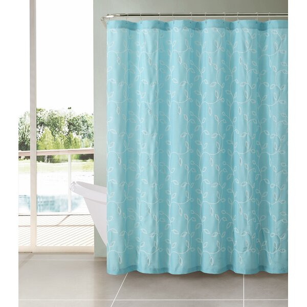 Royalwood Polyester Shower Curtain by Alcott Hill