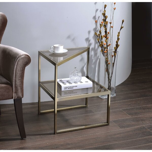 Emmitt End Table by Everly Quinn Everly Quinn
