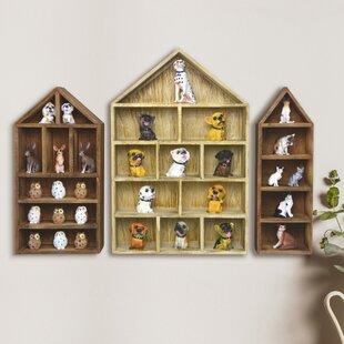 Odonnell Shadow 3 Piece Wall Shelf Set