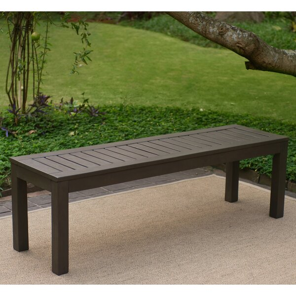 Wirksworth Wood Picnic Bench by Ebern Designs