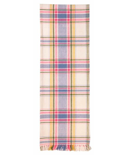 Hursey Plaid Table Runner (Set of 2) by Alcott Hill