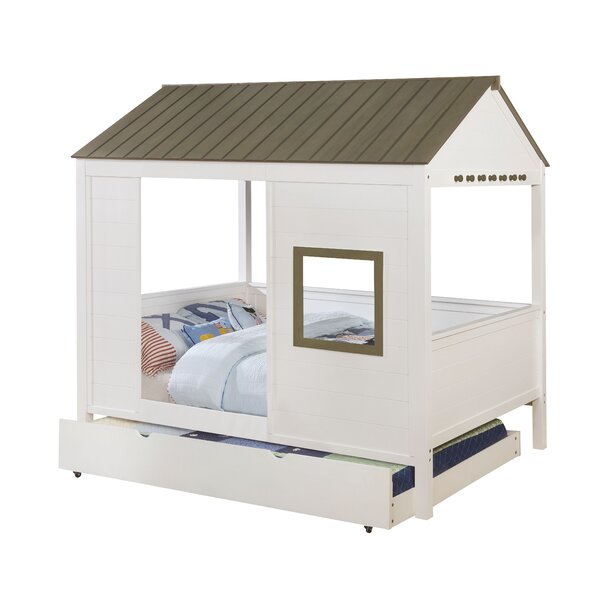 Elyssa Canopy Bed by Zoomie Kids