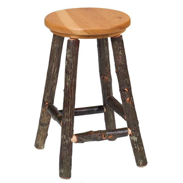 Hickory 24 Bar Stool by Fireside Lodge