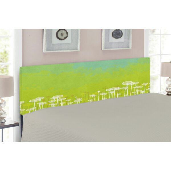 Dandelion Upholstered Panel Headboard by East Urban Home