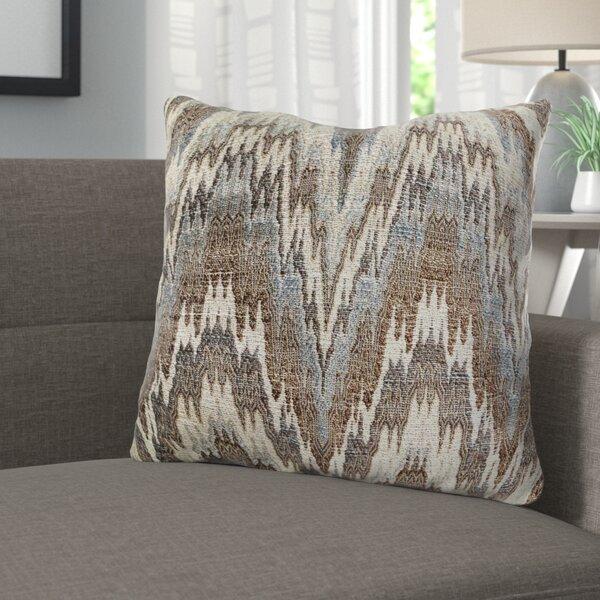 Demartino Oblique Ridge Wave Luxury Pillow by Corrigan Studio