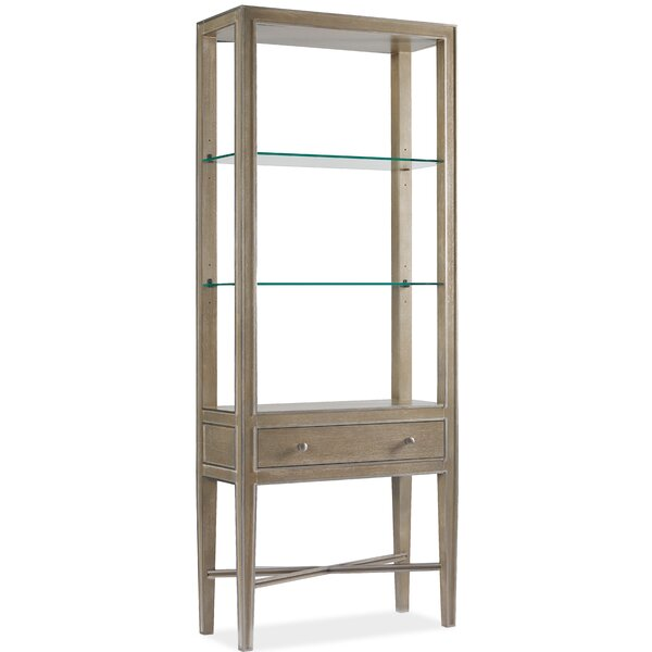 Modern Romance Etagere Bookcase By Hooker Furniture
