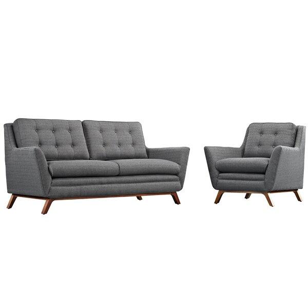 Binder 2 Piece Living Room Set by George Oliver