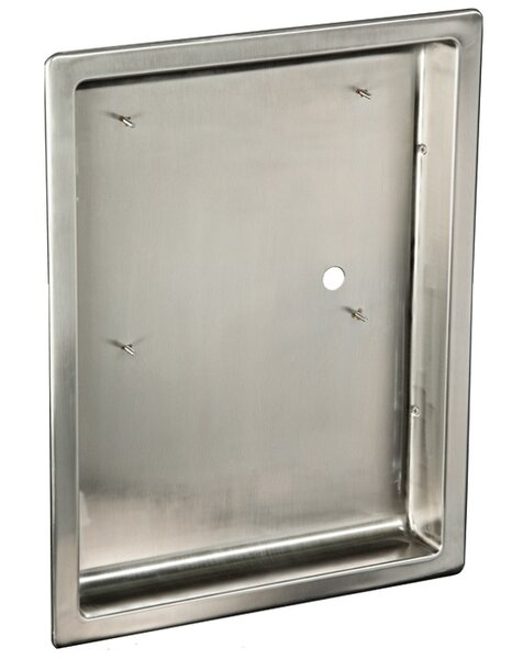 ADA Dryer Recess Kit in Stainless Steel by American Dryer