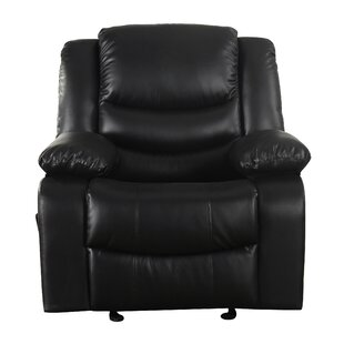 Classic Overstuffed Manual Rocker Recliner Madison Home USA