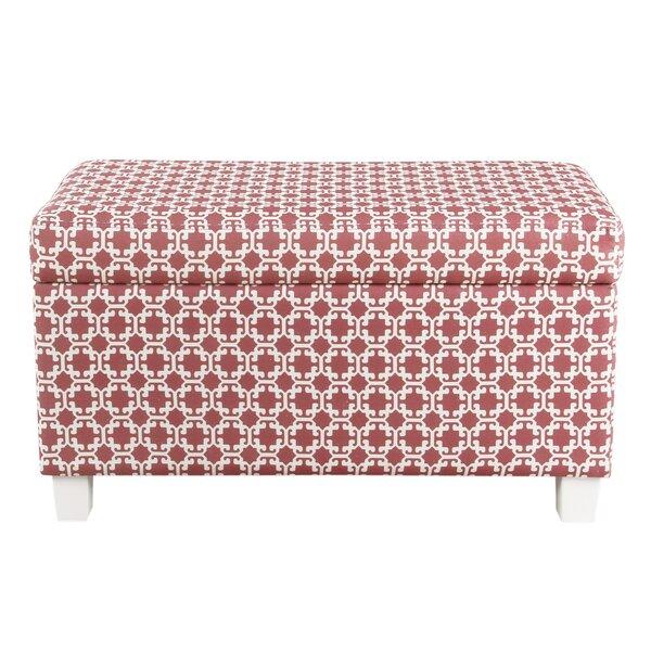 Adames Upholstered Storage Bench By Harriet Bee