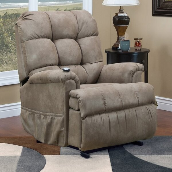 5555 Series Petite Sleeper Power Lift Assist Recliner by Med-Lift