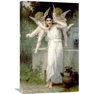 'L'Innocence' by William-Adolphe Bouguereau Painting Print on Wrapped Canvas by Global Gallery
