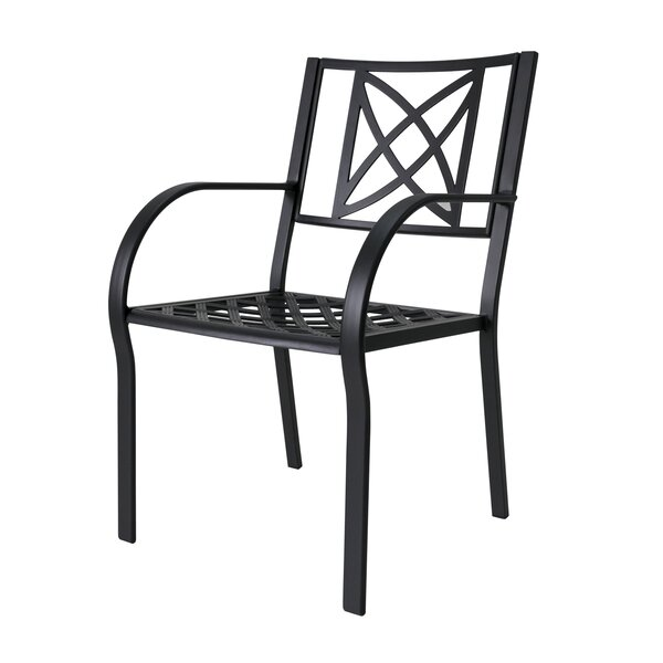 Kelty Patio Dining Chair (Set of 2) by Charlton Home